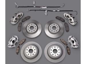 Front Brake Rotors Brake Pads Dodge Challenger Chrysler Rotor Ceramic Pad Kit