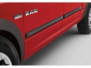 Dodge Ram 1500 Quad Cab Chrome Side Door Molding Trim Mopar OEM