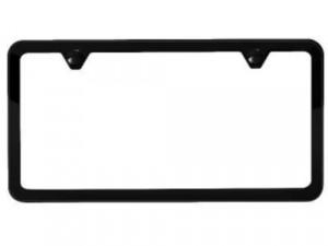 Glossy Black License Plate Frame VENTURA Auto Accessory