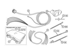 dodge durango trailer wiring diagram dodge durango wiring harness by mopar factory allmoparparts com  dodge durango wiring harness by mopar