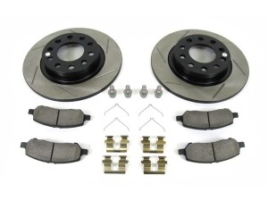 Note: SE RWD; SXT RWD 2016 For Dodge Charger Front Anti Rust Coated Disc Brake Rotors and Ceramic Brake Pads RWD