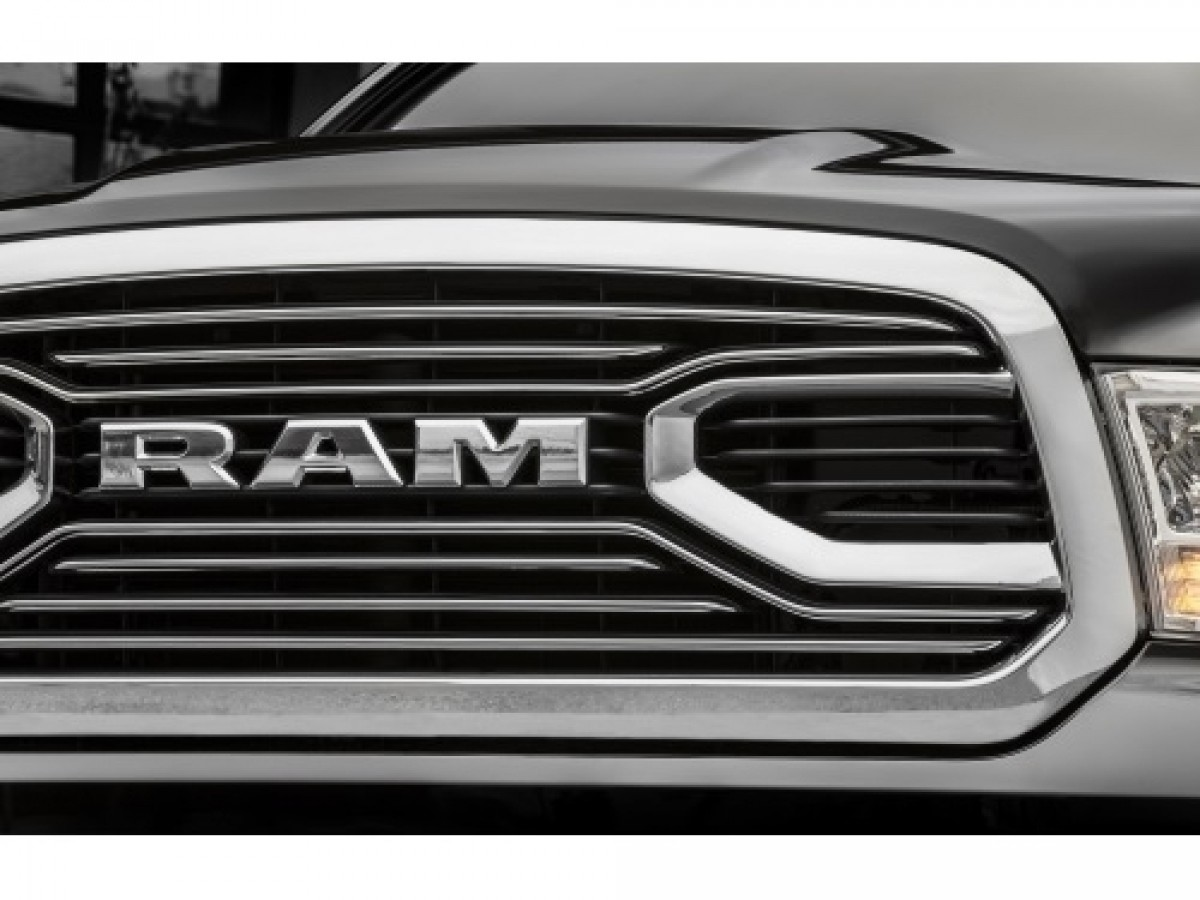 2019 DODGE RAM Chrome RAM Grille Nameplate NEW OEM