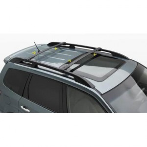 Set For Subaru Impreza XV Crosstrek Aero Roof Rack Cross Bars E361SFJ100 Kayak