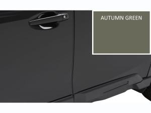 Autumn Green Metallic SUBARU 2020 Outback /& Legacy Genuine Body Side MOLDINGS OEM Set of 4