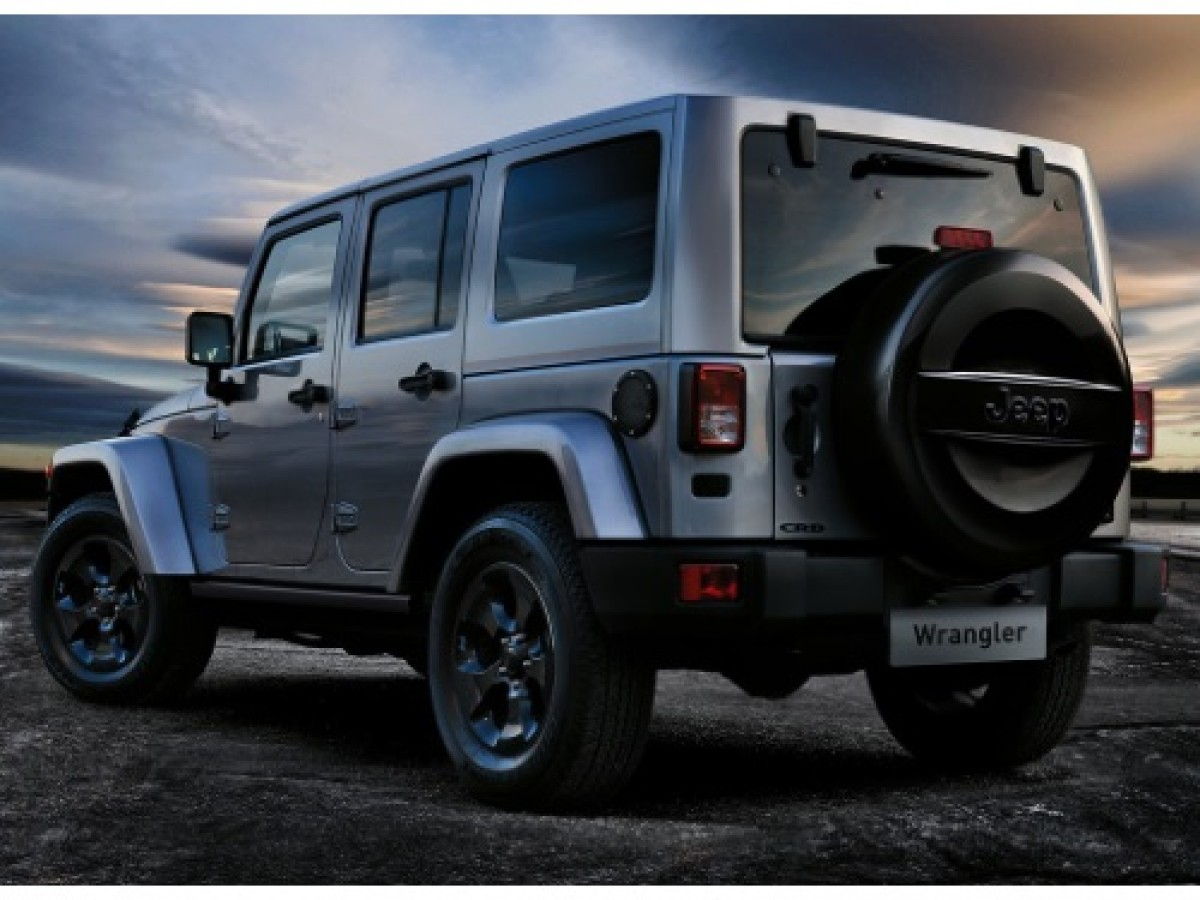 Genuine Jeep Accessories 82212318 Cloth Spare Tire Cover with Tiki Man Logo